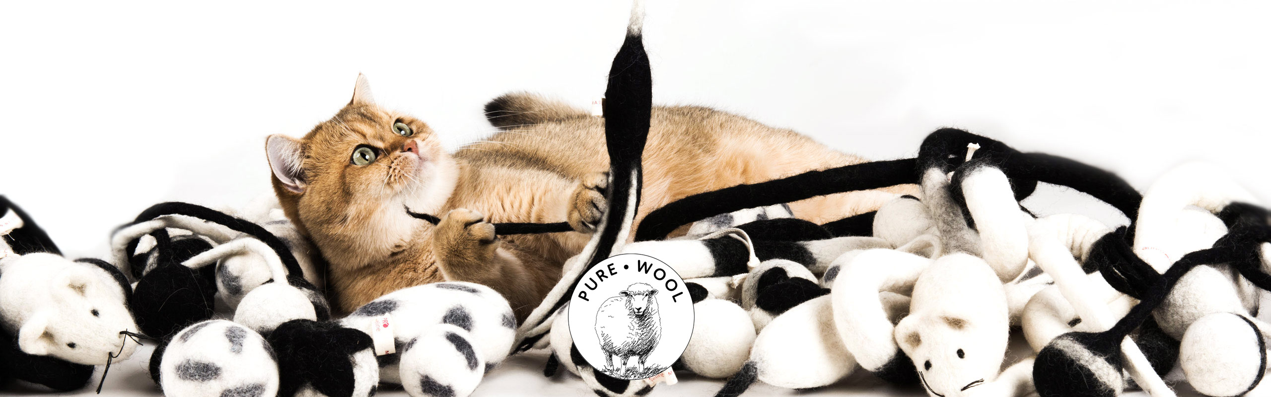 Cat Toys Pure Wool