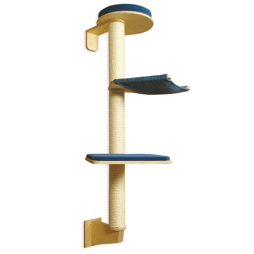 Wall mounted cat tree profeline - Wall mounted cat climber ...