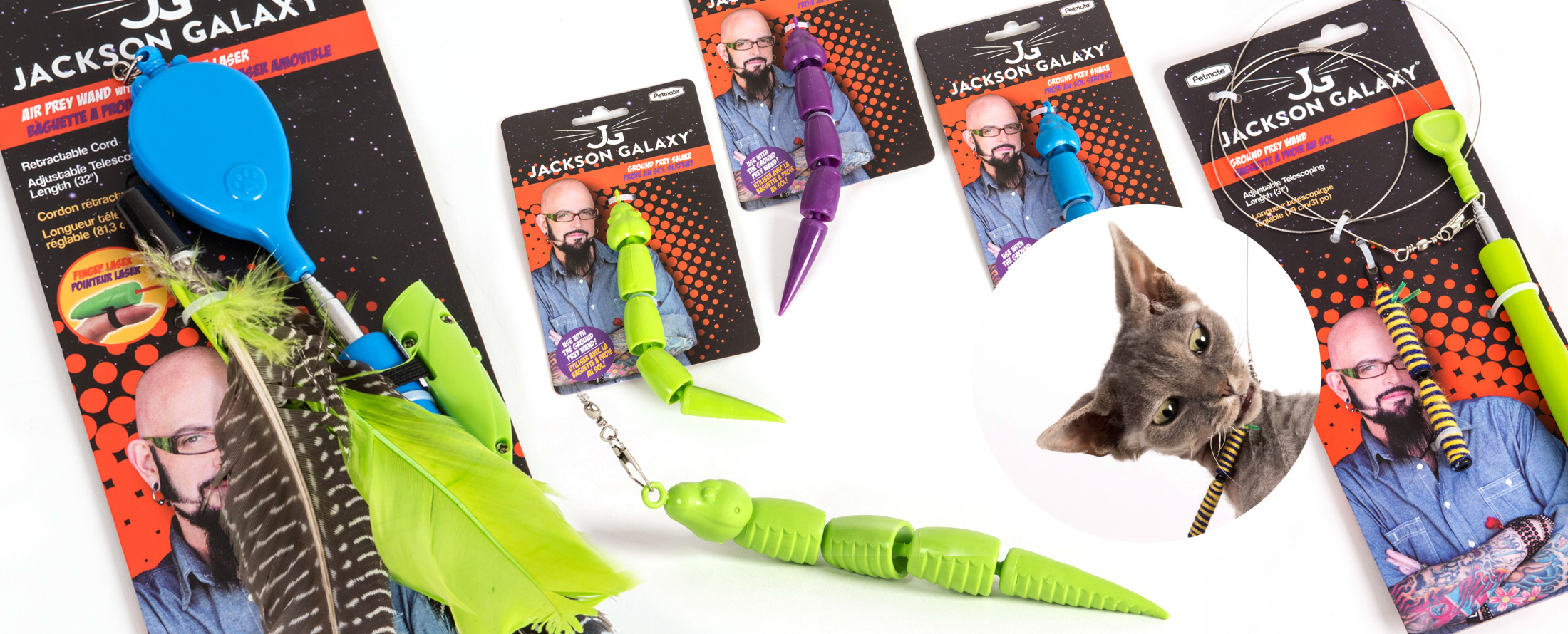 Jackson galaxy and kate benjamin cat toys and cat books for Jackson galaxy pet toys