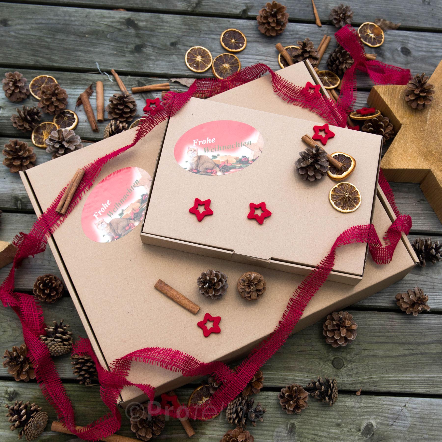 Weihnachtsgeschenk für Katzen - Überraschungsbox X-Mas