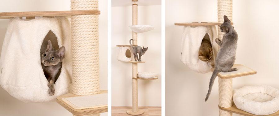 katzenh hle f r kratzb ume. Black Bedroom Furniture Sets. Home Design Ideas